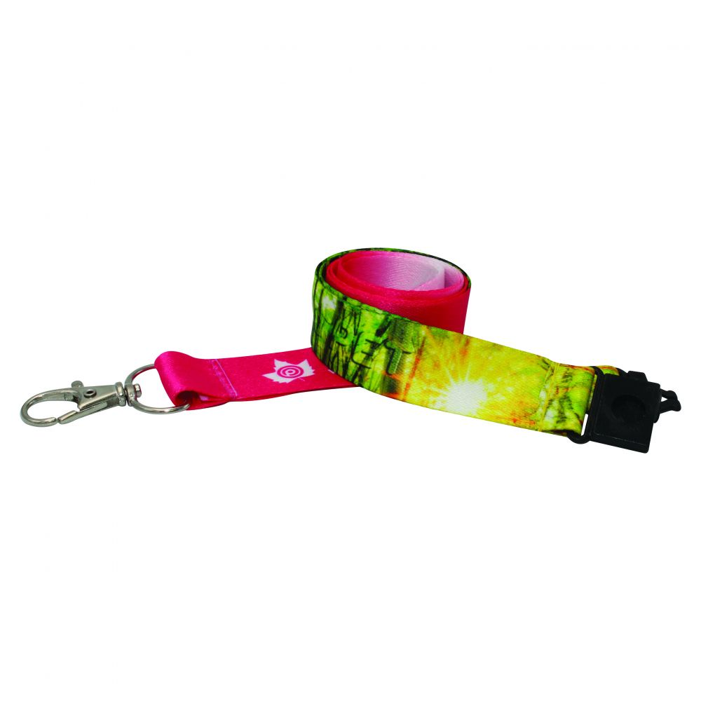 20mm Recycled PET Dye Sub Lanyard