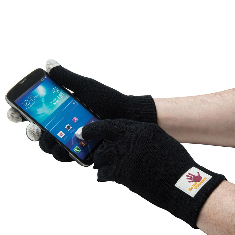 Smart Gloves (Touchscreen Gloves) - PVC Label