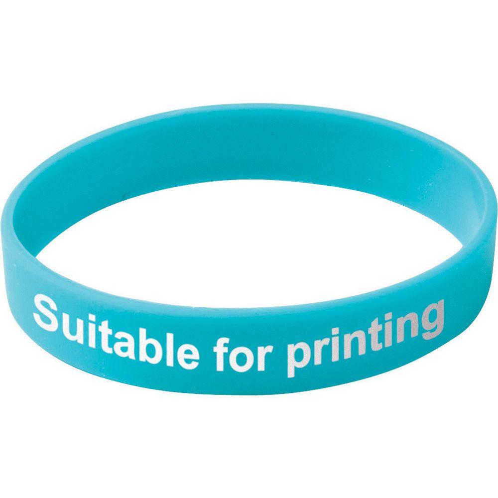 Adult Silicone Wristband  UK Stock  Blue