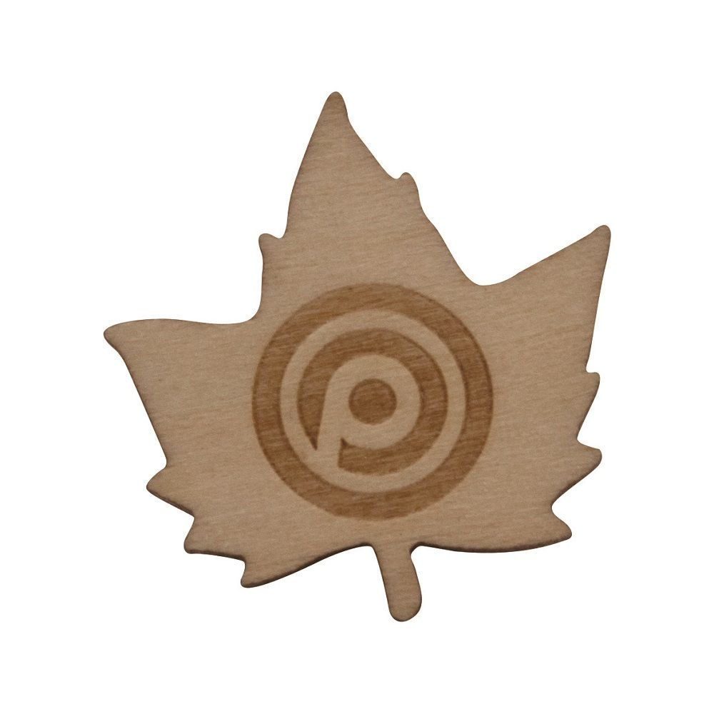 Wooden Badge  20mm