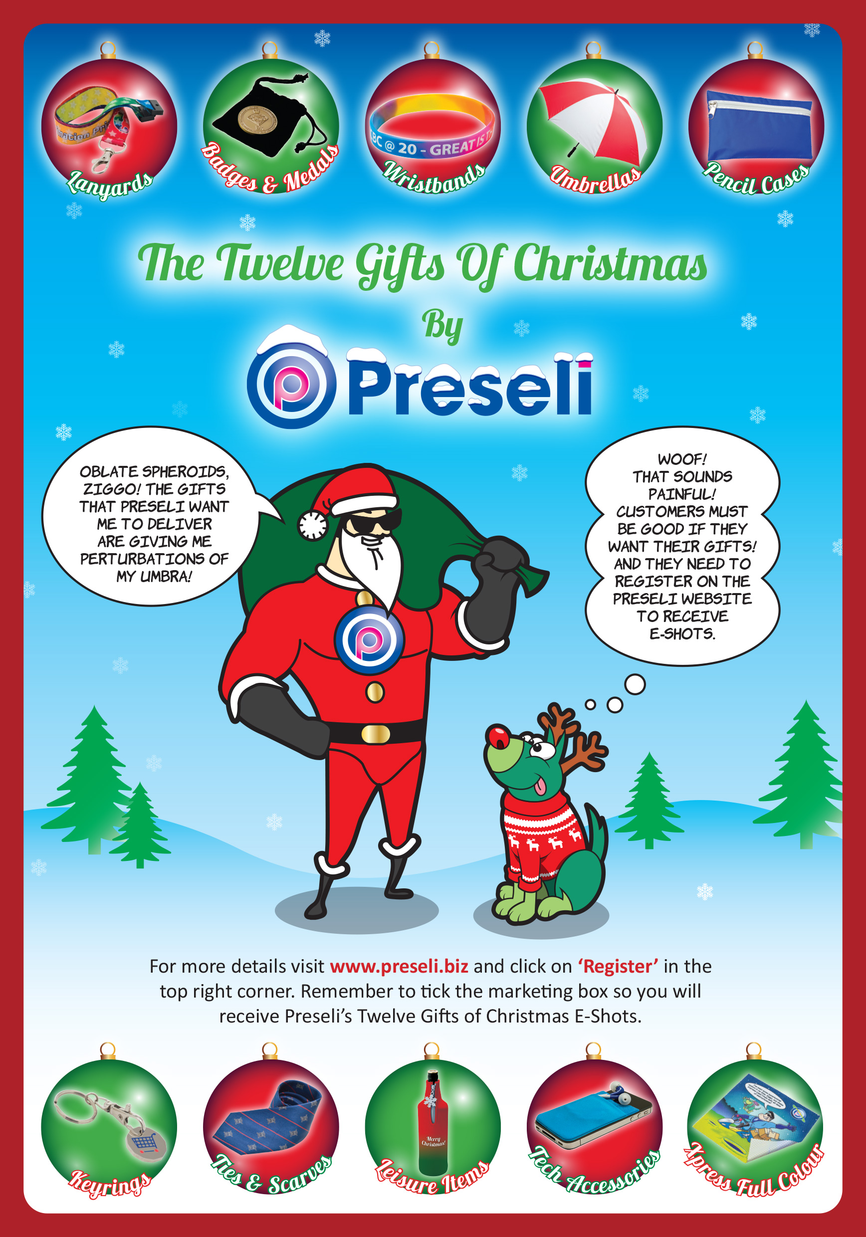 Latest News from Preseli Promotional Products